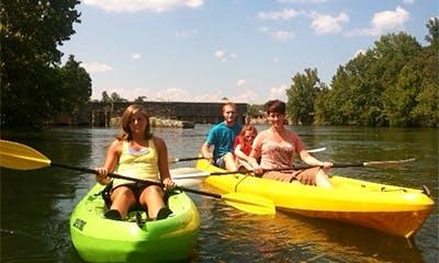 Savannah Rapids Kayak Rental