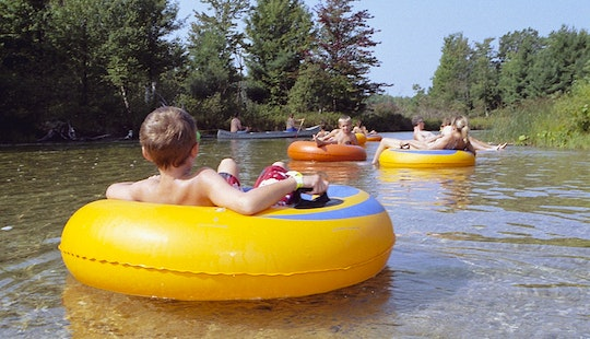 Tube Float Rental In Pere Marquette River, Michigan