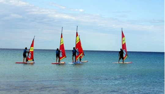Wind Surfer For Rent In Es Pujols