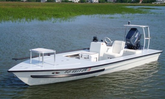18' Hell's Bay Guide Boat In Ormond Beach