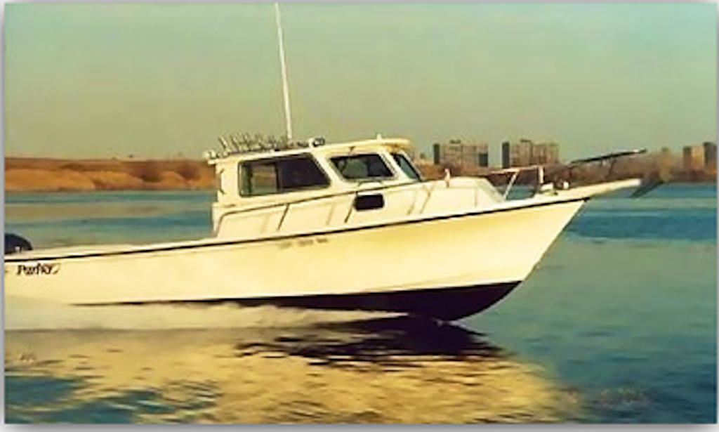 25 39 parker pilot house fishing boat in queens getmyboat for Pilot house fishing boats