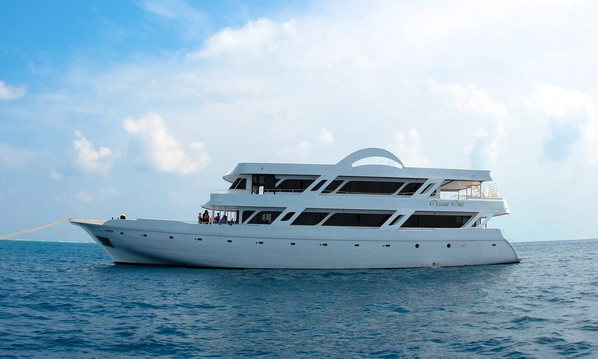 """""""OCEAN ONE"""" Maldives Yacht Charter from Malé"""