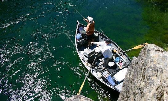 Drift Boat Fishing Trips In Douglas City