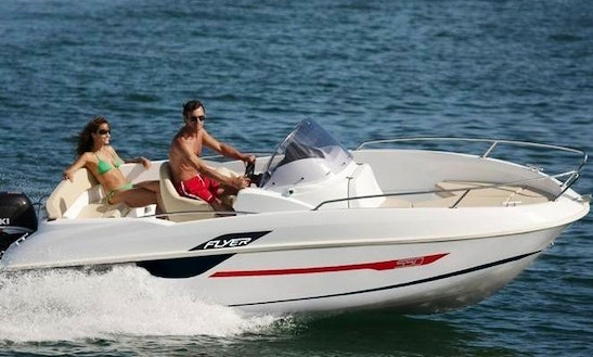 Flyer 550 Open Deck Boat For Rent In L'escala
