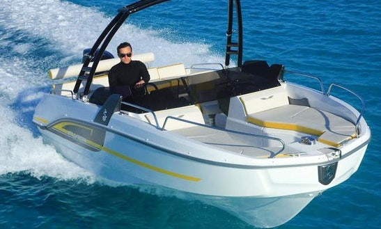 Flyer 6 Sportdeck Boat For Rent In L'escala