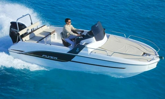 Flyer 6 Sundeck Boat For Rent In L'escala