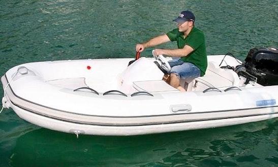 Goldenship V 360 Rib Boat For Rent In L'escala