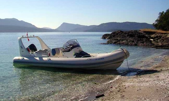 26ft Luxury Zodiac Medline Iii Rib Charter In Sooke, British Columbia