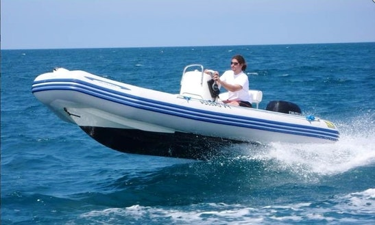 Medline I Rib Boat For Rent In L'escala