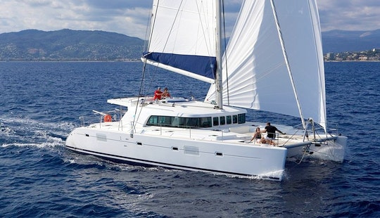Charter A 2008 Lagoon Sailing Catamaran In Mallorca, Spain