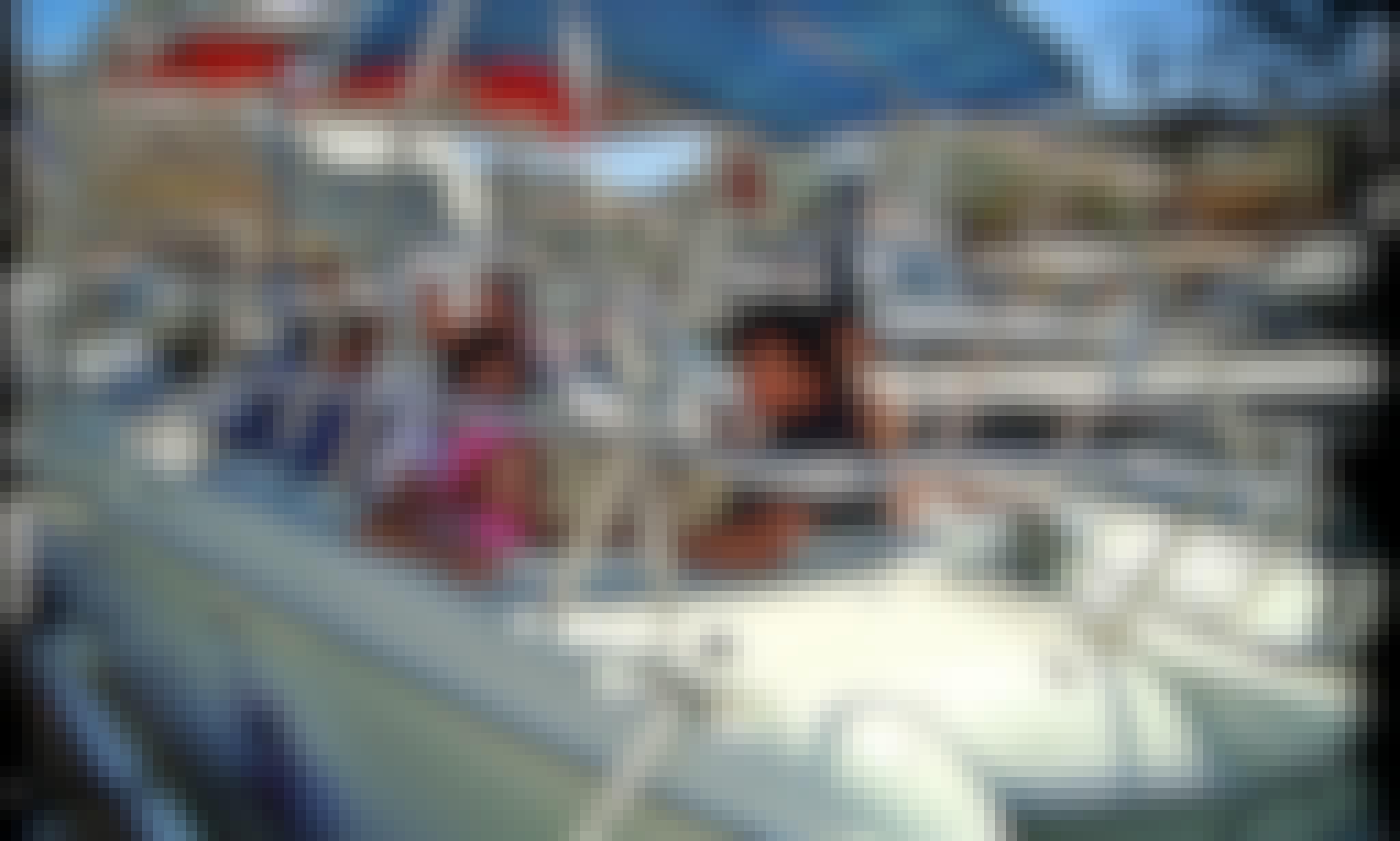 Rent 25' Power Catamaran in Cabo San Lucas, Mexico