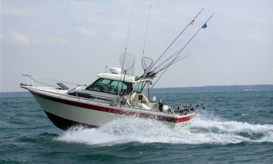 Sport Fisherman Fishing Charter In Mansfield