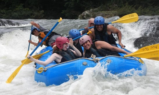 Rio Grande River Rafting In Panama