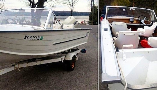 16' Starcraft Fishing Boat Rental In Interlochen