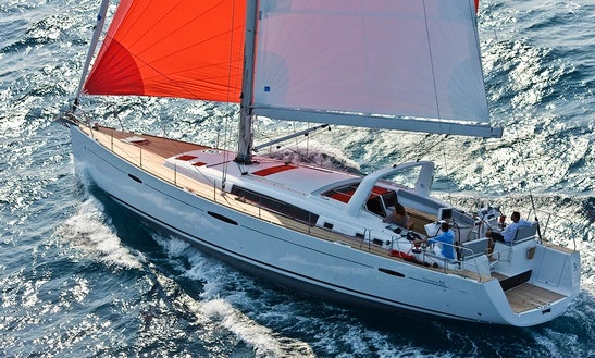 Crewed Charter On Oceanis 58 In Ibiza