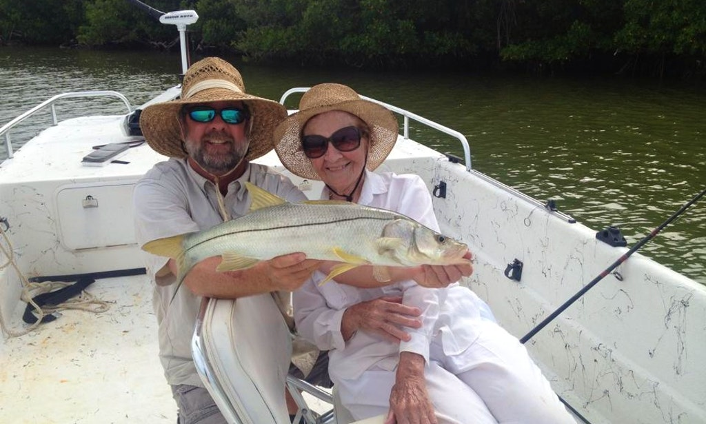 Guided fishing charter in crystal river florida with for Crystal river fishing charters