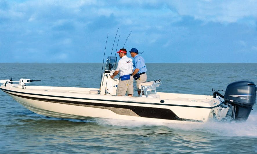 20' Bay Boat Fishing Charter In Mt Pleasant, South Carolina