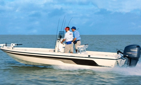 20' Bay Boat Fishing Charter In Mt Pleasant, South Carolina