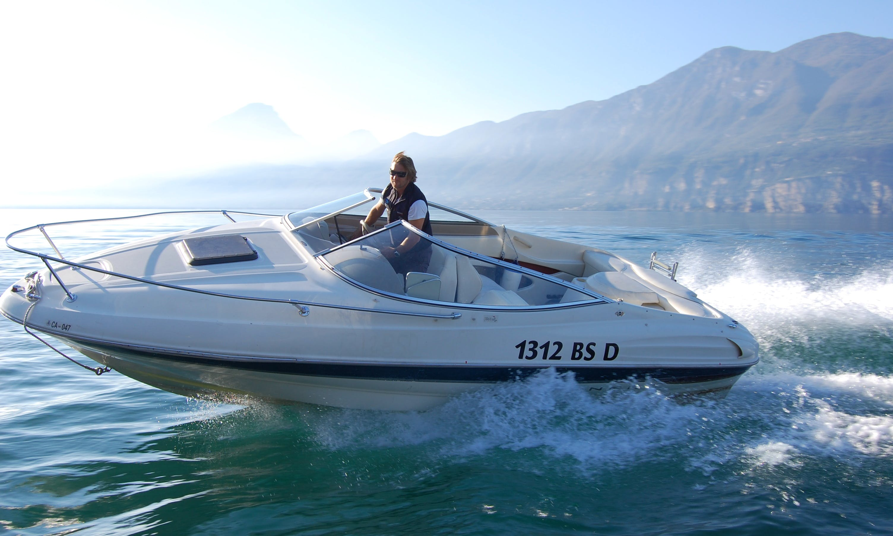 2003 Motor Yacht Charter in Brenzone, Italy for up to 8 person