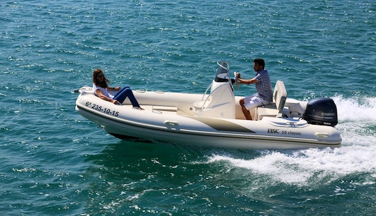 Rib  Rental Of Bsc-50 In Roses, Costa Brava