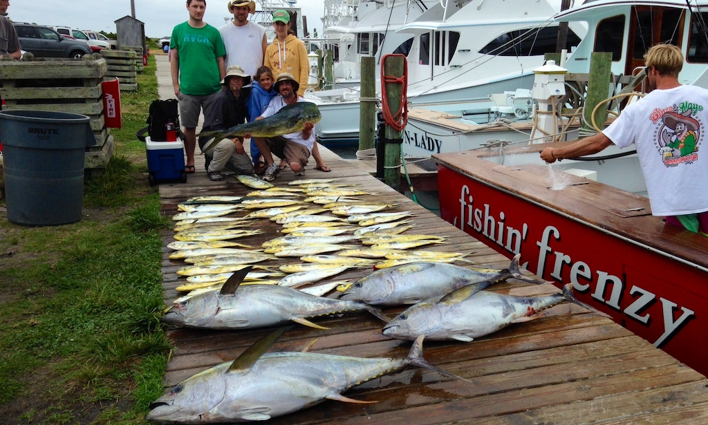 53 39 fishin frenzy carolina sportfishing yacht in nags head