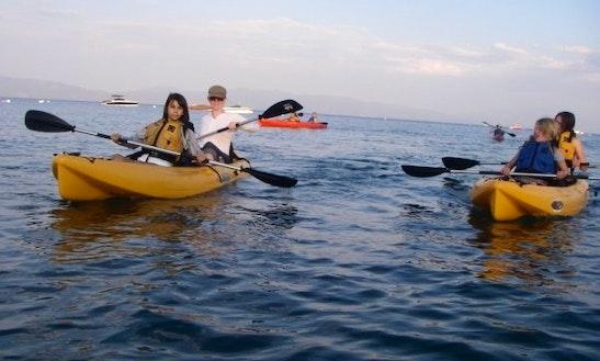 Tandem Kayak Rental In Tahoe City