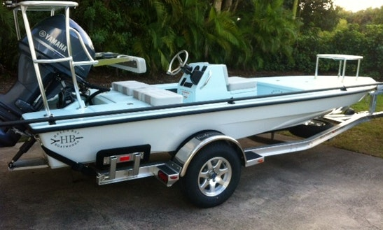 Enjoy 17.8' Hb Professional Skiff Boat Fishing Charter In Miami