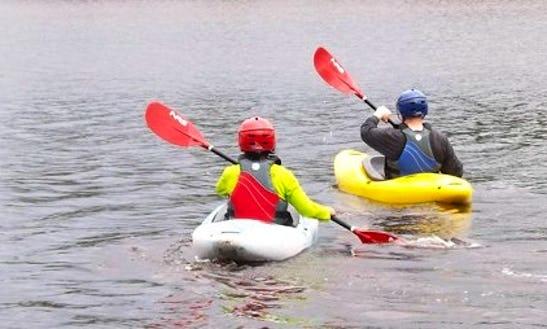 Whitewater Kayaking In Esko