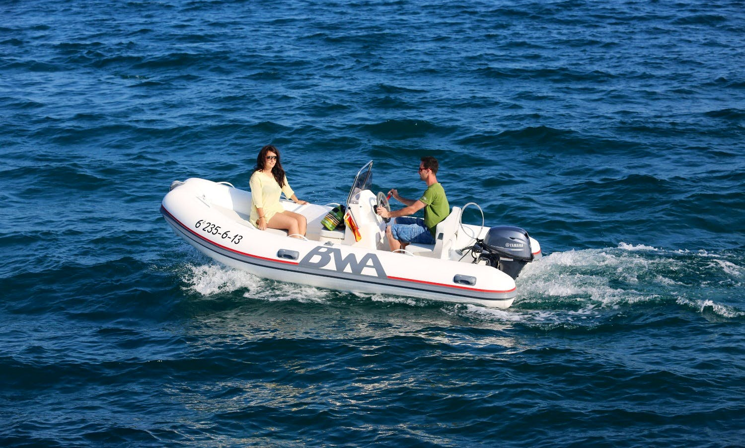 RIB  BWA FOUR FOUR Rental in Roses