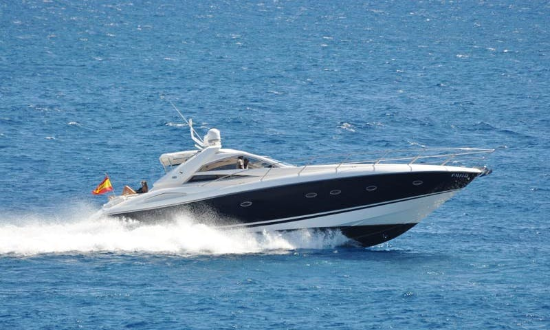 "Motor Yacht ""Sunseeker"" Charter in Spain"