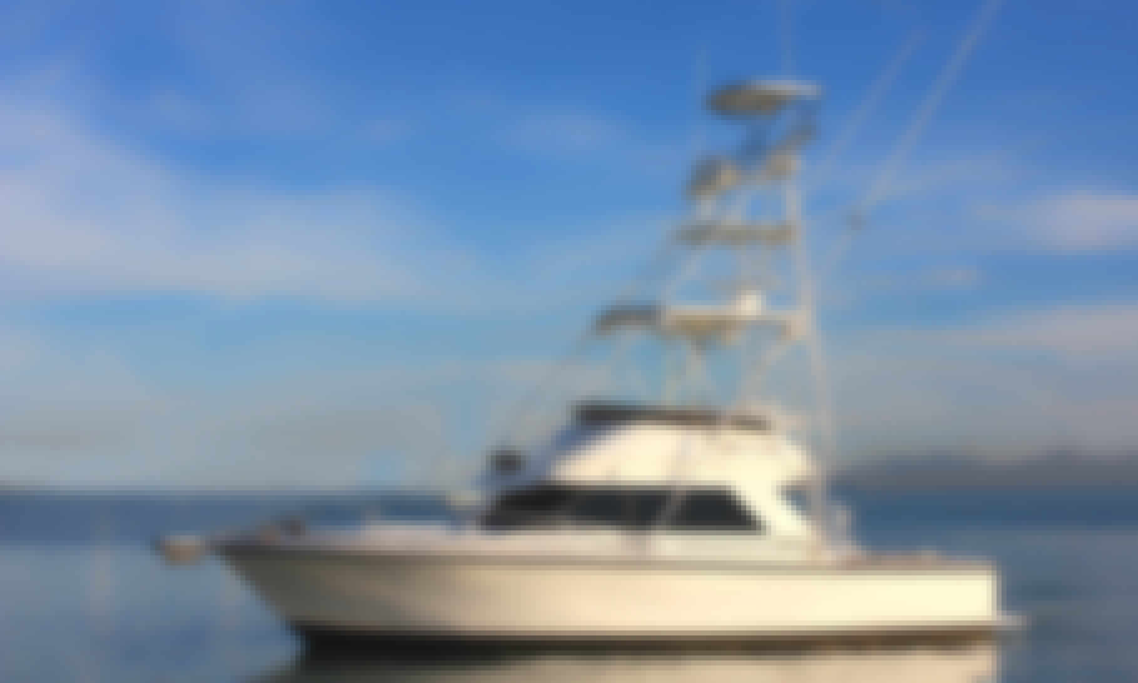 "Fishing Charter On 34ft ""M.V. Dragon"" Yacht With Captain Kenneth"
