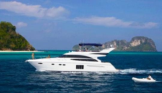 Luxury M/y Moon Breeze Princess 64ft In Phuket