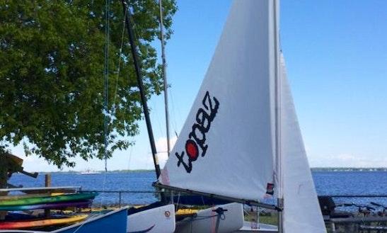 Beach Monohull Boat Rental In Kingston, Canada