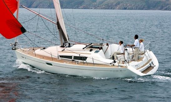 Luxury Cruiser ''sun Odyssey 36i'' Charter In Nieuwpoort