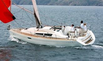 Luxury Cruiser Sun Odyssey 36i Charter in Nieuwpoort, Belgium