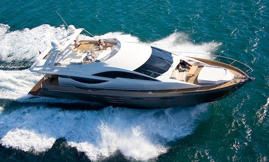 Numarine 78 Flybridge - Lifestyle