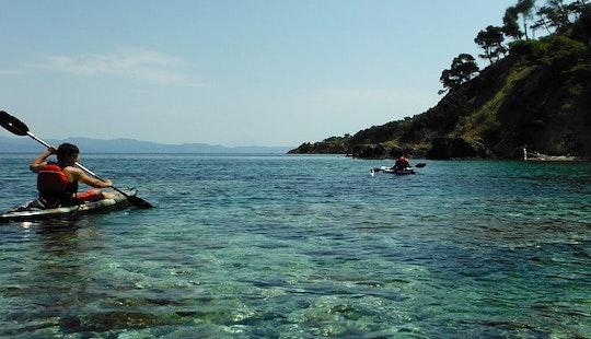 Guided Kayak Tour In Kassandreia
