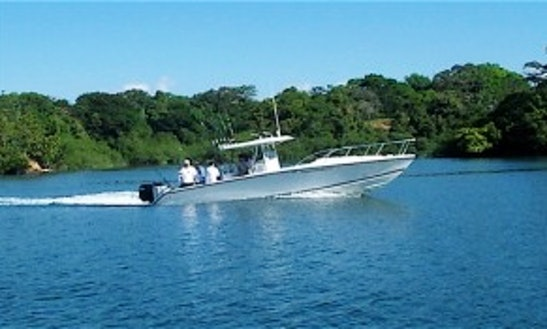 Panama Fishing Charter On 35' Marlago Center Console