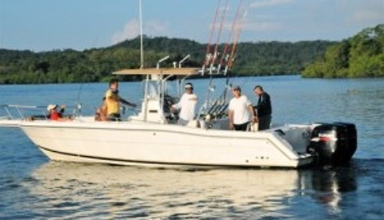 Memorable Fishing Trip On 31' Stamas Center Console In Chicá, Panamá