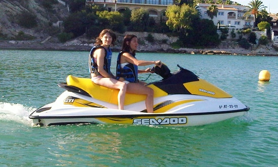 Sea Doo Brp Gti Jet Ski Rental In Calp