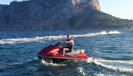 Yamaha Waverunner Vx Rental In Calp