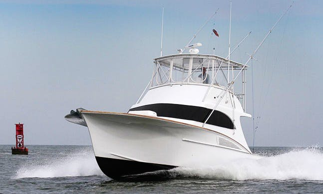 "46ft ""Buddy Harris"" Sport Fishing Flybridge Boat Charter in Cape May, New Jersey"