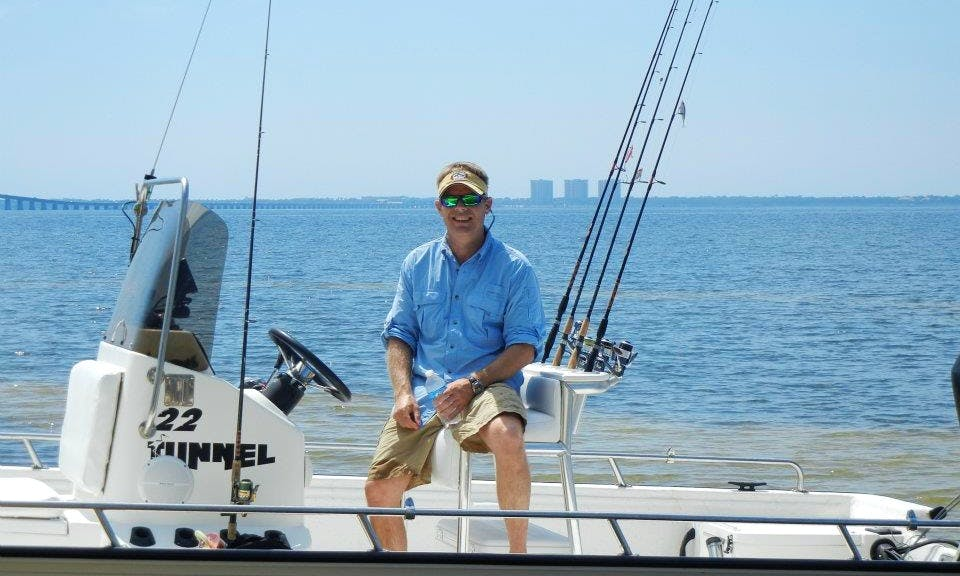 24ft Center Console Fishing Boat in Santa Rosa Beach, Florida