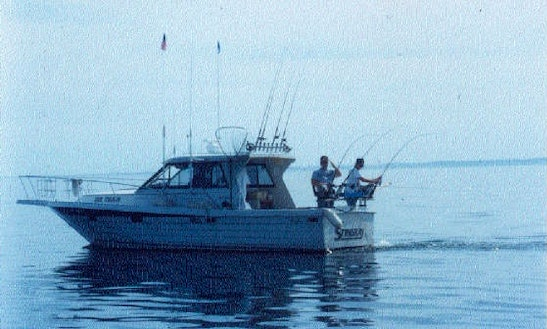 Cuddy Cabin Fishing Charter In New York