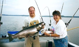 Cuddy Cabin Fishing Charter In New York