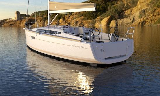 Luxury Cruising Monohull ''sun Odyssey 379'' Charter In Nieuwpoort