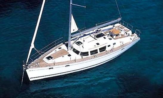 Cruising Monohull ''sun Odyssey 43'' Charter In Nieuwpoort