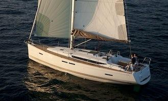 Cruising Monohull Luxurious Sun Odyssey 439 Charter In Nieuwpoort, Belgium