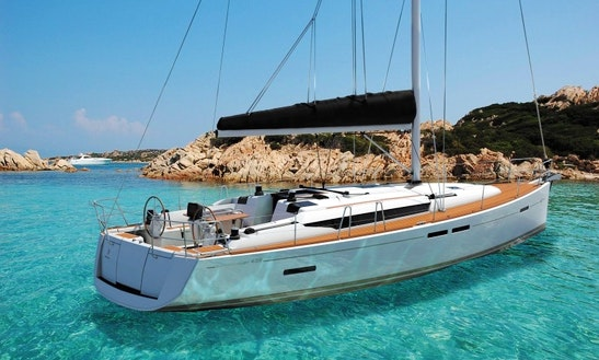 Luxury Cruising Monohull ''sun Odyssey 439'' Charter In Nieuwpoort