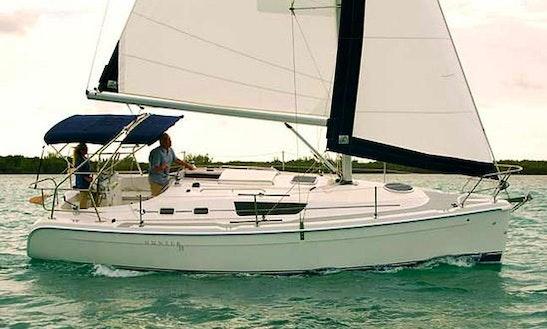 Charter Hunter 31 On Manitoulin Island
